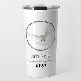 Bible: John 3:16 Travel Mug