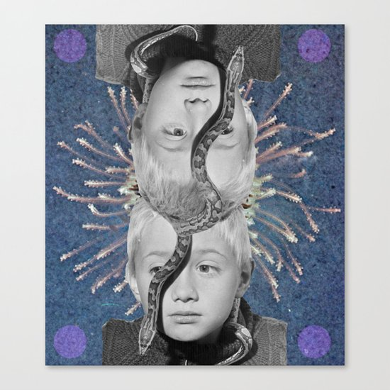 Twinz Canvas Print