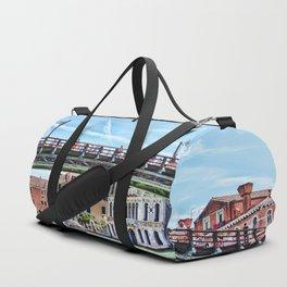Ponte dell' Accademia Bridge In Venice, Italy Duffle Bag