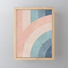 Only a Rainbow Framed Mini Art Print