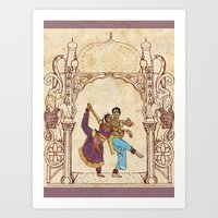 india Art Prints featuring India by Tina Schofield