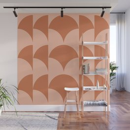 Cleo Pattern - Sunset Wall Mural