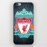 liverpool iPhone & iPod Skins featuring LIVERPOOL by Acus