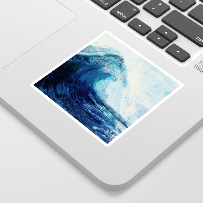 Waves II Sticker