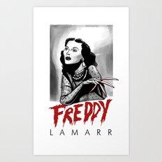 Freddy Lamarr Art Print