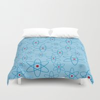 teacher Duvet Covers featuring School teacher #4 by Juliana RW