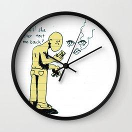 She Gone Wall Clock