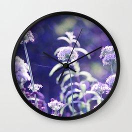 Beautiful autumn in the gardens Wall Clock