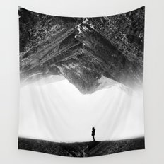 Lost in isolation Wall Tapestry