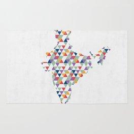 Indian Pyramids Rug