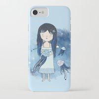 medusa iPhone & iPod Cases featuring Medusa by Kristina Sabaite