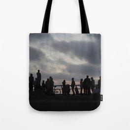 Backlight at Venice Beach  Tote Bag