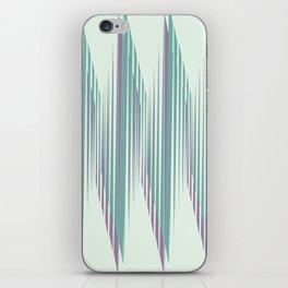 Zig Up, Zig Down iPhone Skin