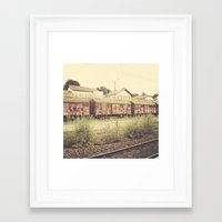 france Framed Art Prints featuring France by Kyle Moreno