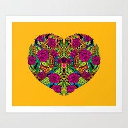 I Heart Art Print