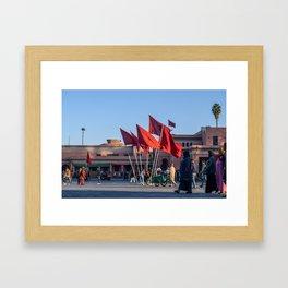 Pride of Jemaa el-Fna (Marrakech) Framed Art Print