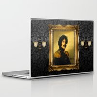 replaceface Laptop & iPad Skins featuring Frank Zappa - replaceface by replaceface