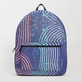 Streaks & Curves Abstract Paint Strokes Backpack
