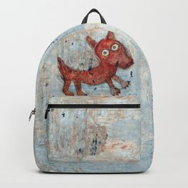 Scotty - Abstract playful fun dog Backpack