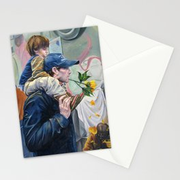 Someone to Teach Me To Care Stationery Cards