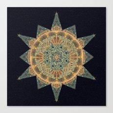 Life Star Mandala Canvas Print