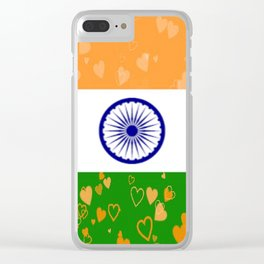 Love India-458 Clear iPhone Case