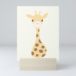 Safari Animal - Giraffe Mini Art Print