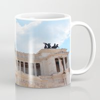 rome Mugs featuring Rome by Anya Kubilus