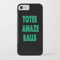 totes iPhone & iPod Cases featuring totes amaze balls by  Alexia Miles photography