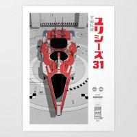 Ulysses 31 (alternate version) Art Print