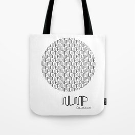 WUMP Collective Sphere in Black Tote Bag