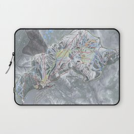Squaw Valley Resort Trail Map Laptop Sleeve