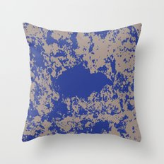 mauer fleck Throw Pillow