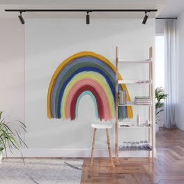 Rainbow Lines 2 Wall Mural