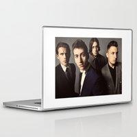 arctic monkeys Laptop & iPad Skins featuring Arctic Monkeys by lastminutebinge
