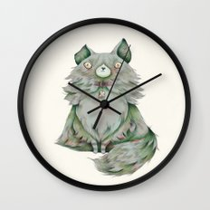 brume color Wall Clock