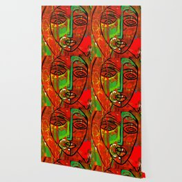African Abstract Wallpaper
