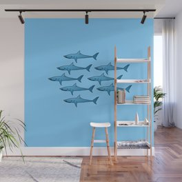 military of sharks Wall Mural