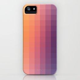 Lumen, Purple and Orange Glow iPhone Case