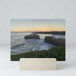 Ocean in Santa Cruz Mini Art Print