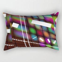 Geometric Color Rectangular Pillow