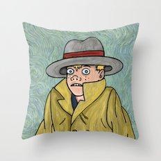 Vincent Adultman Throw Pillow