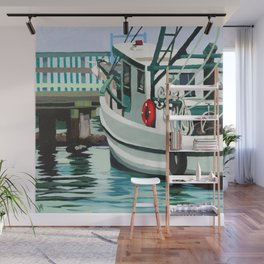 Dock on the Bay Wall Mural
