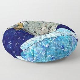 Stellar Edge Floor Pillow
