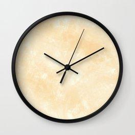 Smooth Beige Marmol Stone Wall Clock