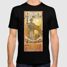 Frontier Legacy Mens Fitted Tee Black MEDIUM