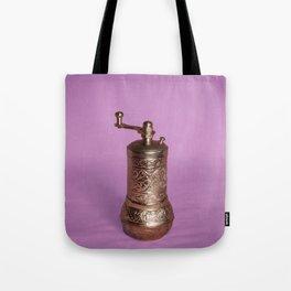 Vintage Grinding Machine Tote Bag