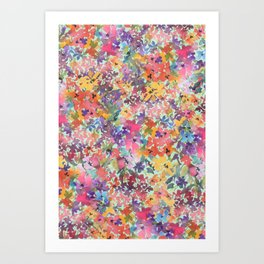 Prairie Wildflowers Art Print