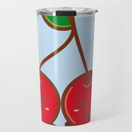 Kawaii Cherries Travel Mug