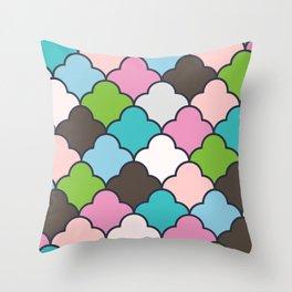 Preppy Fun Pattern Throw Pillow